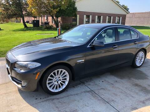 2011 BMW 5 Series for sale at Renaissance Auto Network in Warrensville Heights OH