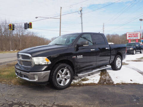 2013 RAM Ram Pickup 1500 for sale at Patriot Motors in Cortland OH
