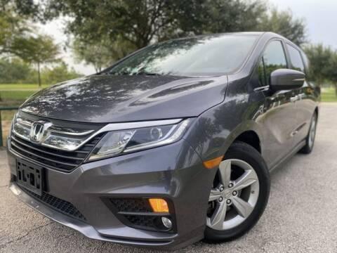 2018 Honda Odyssey for sale at Prestige Motor Cars in Houston TX