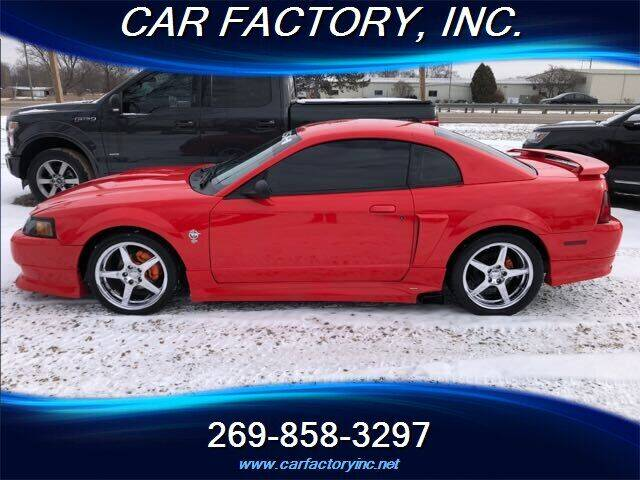 1999 Ford Mustang for sale at Car Factory Inc. in Three Rivers MI