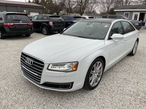 2015 Audi A8 L for sale at Davidson Auto Deals in Syracuse IN