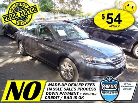 2015 Honda Accord for sale at AUTOFYND in Elmont NY