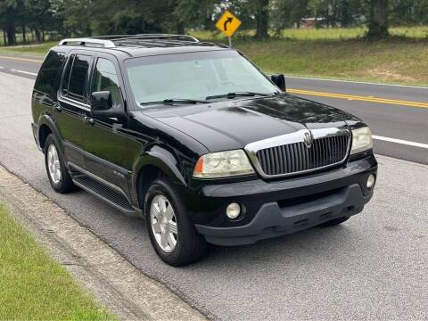 2004 Lincoln Aviator for sale at Two Brothers Auto Sales in Loganville GA