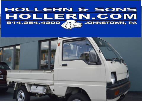 1988 Mitsubishi MINI CAB 4X4 for sale at Hollern & Sons Auto Sales in Johnstown PA