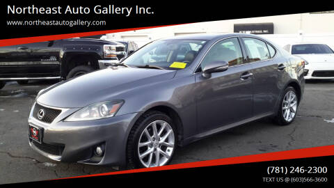 2013 Lexus IS 250 for sale at Northeast Auto Gallery Inc. in Wakefield Ma MA