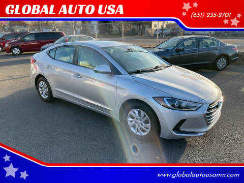 2017 Hyundai Elantra for sale at GLOBAL AUTO USA in Saint Paul MN