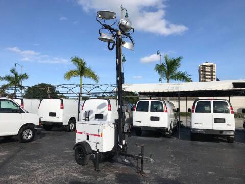 2014 Magnum 306K light tower for sale at Town Cars Auto Sales in West Palm Beach FL