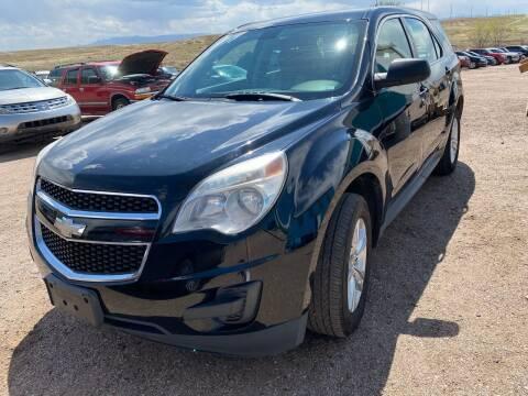 2010 Chevrolet Equinox for sale at PYRAMID MOTORS - Pueblo Lot in Pueblo CO
