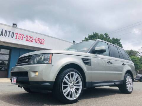 2011 Land Rover Range Rover Sport for sale at Trimax Auto Group in Norfolk VA