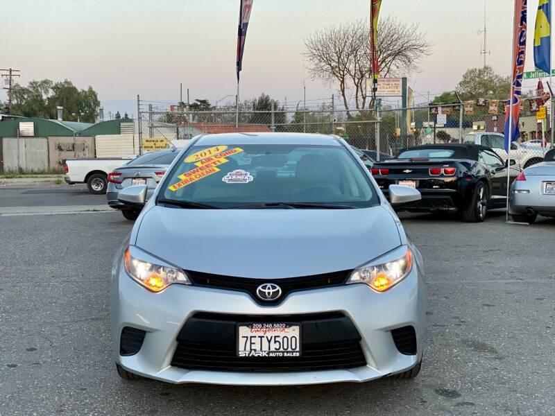 2014 Toyota Corolla for sale at Stark Auto Sales in Modesto CA