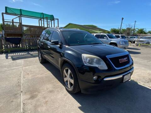 2012 GMC Acadia for sale at RODRIGUEZ MOTORS CO. in Houston TX