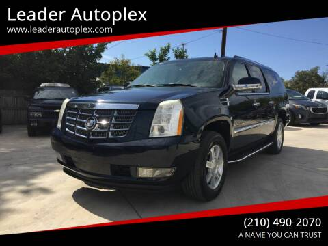2008 Cadillac Escalade ESV for sale at Leader Autoplex in San Antonio TX