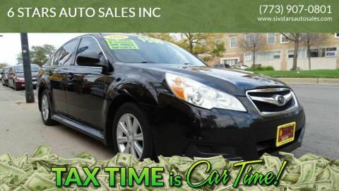 2010 Subaru Legacy for sale at 6 STARS AUTO SALES INC in Chicago IL