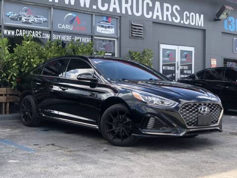 2019 Hyundai Sonata for sale at CARUCARS LLC in Miami FL