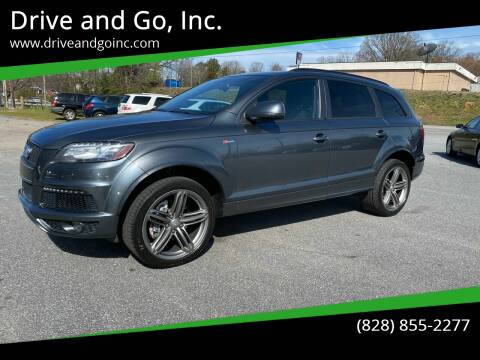 2013 Audi Q7 for sale at Drive and Go, Inc. in Hickory NC