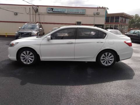 2013 Honda Accord for sale at MR Auto Sales Inc. in Eastlake OH