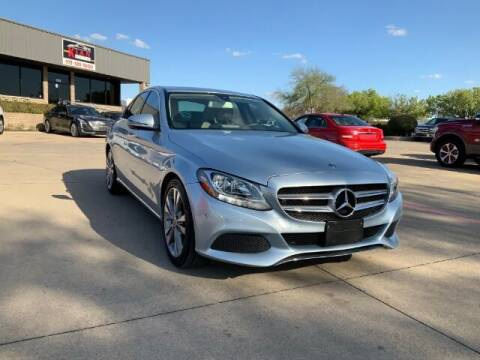 2017 Mercedes-Benz C-Class for sale at KIAN MOTORS INC in Plano TX