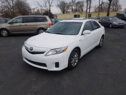 2011 Toyota Camry Hybrid for sale at Nonstop Motors in Indianapolis IN