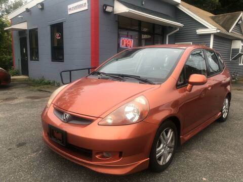 2007 Honda Fit for sale at Auto Kraft in Agawam MA