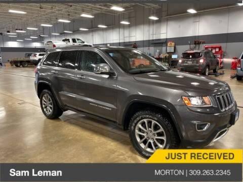 2015 Jeep Grand Cherokee for sale at Sam Leman CDJRF Morton in Morton IL