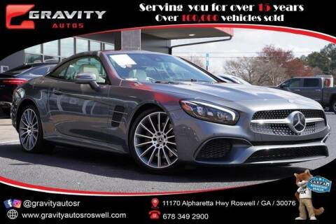 2017 Mercedes-Benz SL-Class for sale at Gravity Autos Roswell in Roswell GA