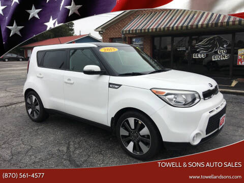 2015 Kia Soul for sale at Towell & Sons Auto Sales in Manila AR