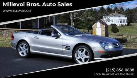 2005 Mercedes-Benz SL-Class for sale at Millevoi Bros. Auto Sales in Philadelphia PA