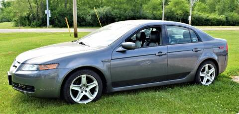 2006 Acura TL for sale at PINNACLE ROAD AUTOMOTIVE LLC in Moraine OH