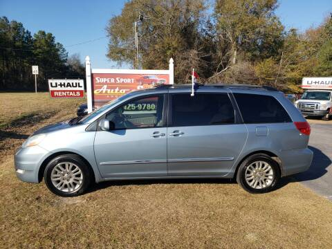 2007 Toyota Sienna for sale at Super Sport Auto Sales in Hope Mills NC