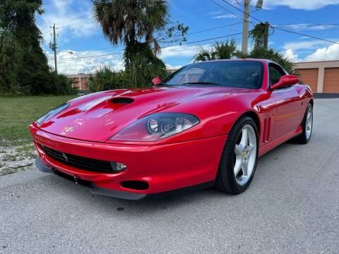 1996 Ferrari 550 Maranello for sale at American Classics Autotrader LLC in Pompano Beach FL
