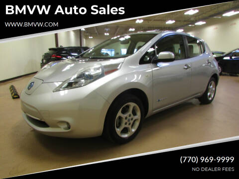 2011 Nissan LEAF for sale at BMVW Auto Sales - Electric Vehicles in Union City GA