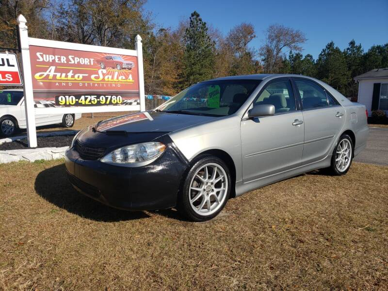 2005 Toyota Camry for sale at Super Sport Auto Sales in Hope Mills NC