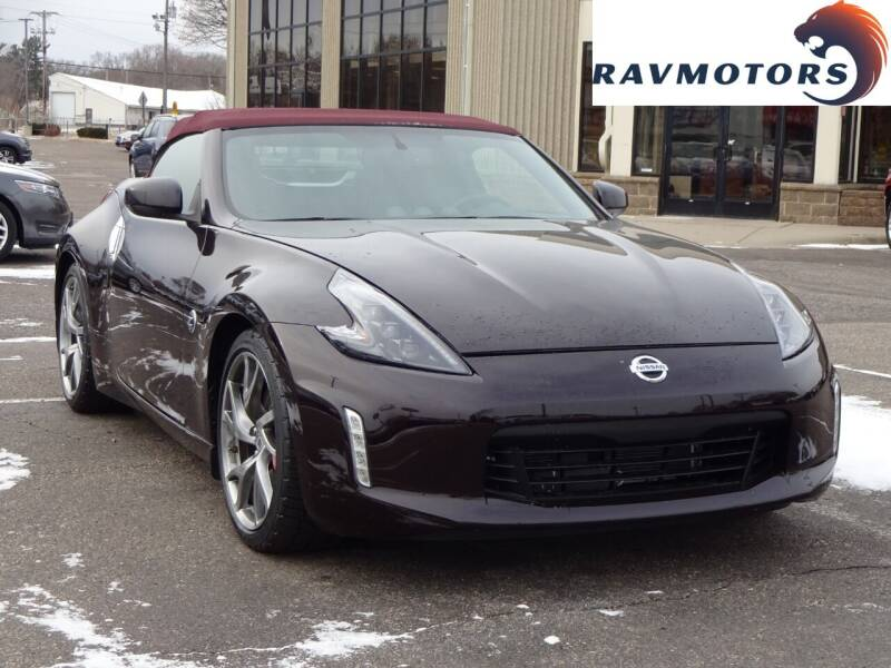 2016 Nissan 370Z for sale at RAVMOTORS 2 in Crystal MN