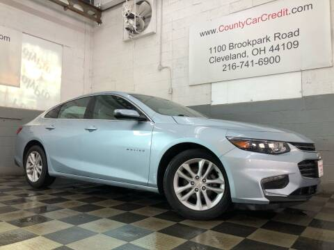 2017 Chevrolet Malibu for sale at County Car Credit in Cleveland OH