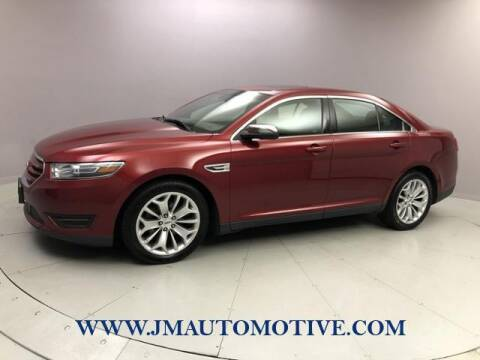2016 Ford Taurus for sale at J & M Automotive in Naugatuck CT