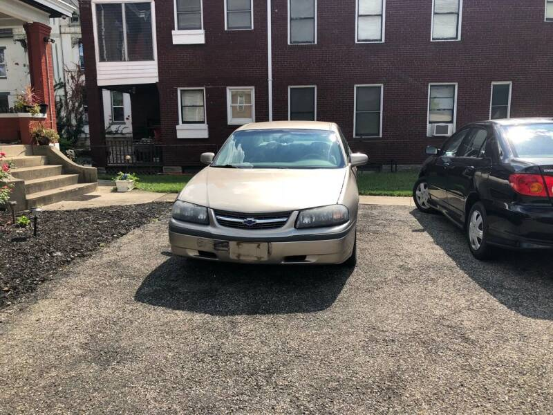 2003 Chevrolet Impala for sale at A2Z AUTO SALES in Norwood OH