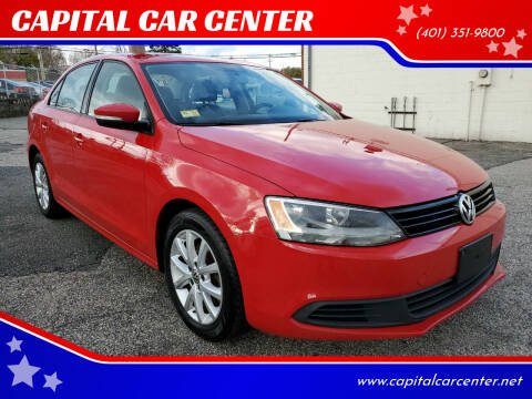 2012 Volkswagen Jetta for sale at CAPITAL CAR CENTER in Providence RI