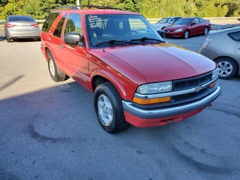 2000 Chevrolet Blazer for sale at DISCOUNT AUTO SALES in Johnson City TN