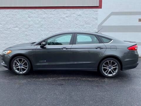 2017 Ford Fusion Hybrid for sale at Ryan Motors in Frankfort IL