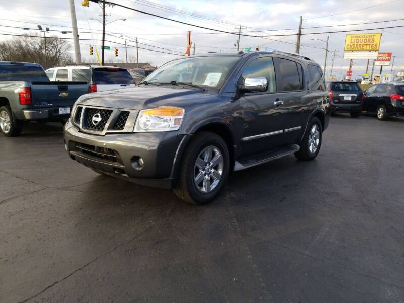 2010 Nissan Armada for sale at Rucker's Auto Sales Inc. in Nashville TN