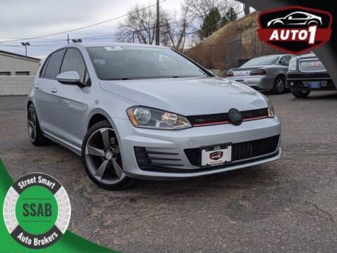 2017 Volkswagen Golf GTI for sale at Street Smart Auto Brokers in Colorado Springs CO