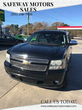 2009 Chevrolet Tahoe for sale at Safeway Motors Sales in Laurinburg NC