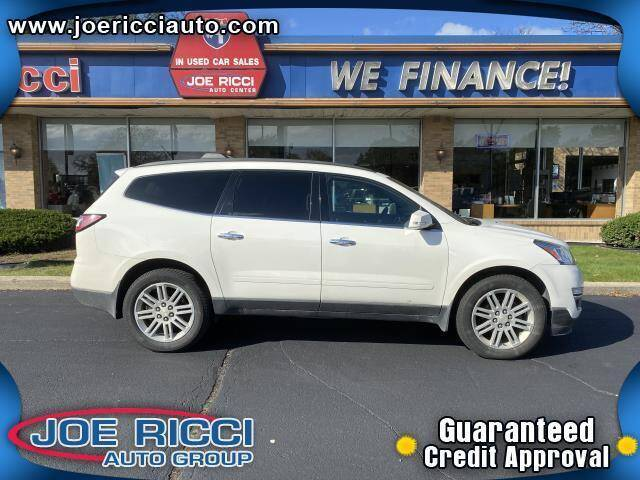2015 Chevrolet Traverse for sale at JOE RICCI AUTOMOTIVE in Clinton Township MI