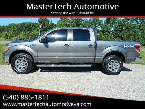 2011 Ford F-150 for sale at MasterTech Automotive in Staunton VA