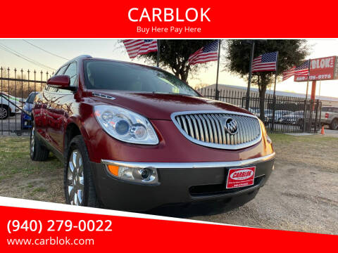 2011 Buick Enclave for sale at CARBLOK in Lewisville TX
