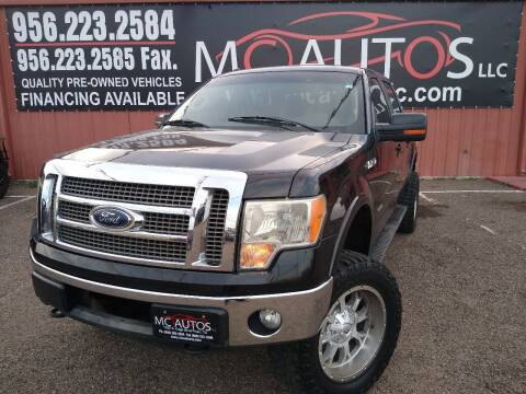 2012 Ford F-150 for sale at MC Autos LLC in Pharr TX