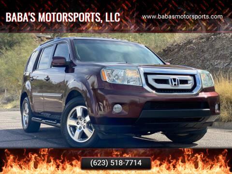 2011 Honda Pilot for sale at Baba's Motorsports, LLC in Phoenix AZ