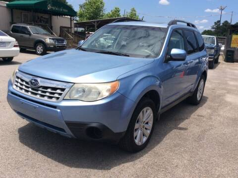 2011 Subaru Forester for sale at OASIS PARK & SELL in Spring TX