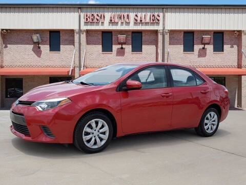 2015 Toyota Corolla for sale at Best Auto Sales LLC in Auburn AL