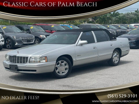 1999 Cadillac DeVille for sale at Classic Cars of Palm Beach in Jupiter FL